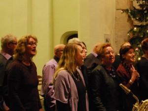 Kerstviering 2013 kerk in Halsteren